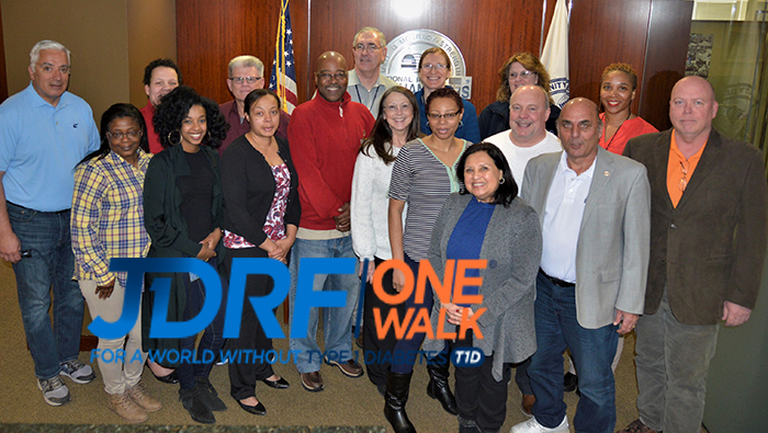 MAIL HANDLERS SUPPORTS JDRF IN UPCOMING WALK